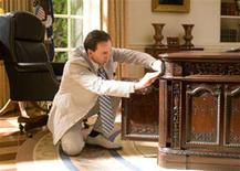 """<p>Nicolas Cage in a scene from """"National Treasure: Book of Secrets"""" in an image courtesy of Walt Disney Pictures. REUTERS/Handout</p>"""