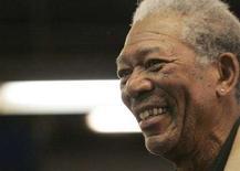<p>Una immagine di Morgan Freeman. REUTERS/Molly Riley</p>