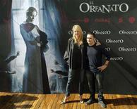 """<p>Spanish actress Belen Rueda (L) and film director Juan Antonio Bayona pose during a photocall to promote their latest film """"El Orfanato"""" (""""The Orphanage"""") in Madrid in this October 9, 2007 file photo. The film is Bayona's first feature-length movie after years of making short films and music videos, and is Spain's entry for 2007's foreign language Oscar. It debuts in major U.S. cities on Friday and across the country in coming weeks. REUTERS/Sergio Perez/Files</p>"""
