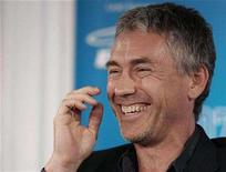 """<p>Director Tony Gilroy laughs during the news conference for """"Michael Clayton"""" at the 32nd Toronto International Film Festival in Toronto, September 8, 2007. On the surface, the behind-the-scenes intrigues of a corporate law firm hardly seem cinematic enough to justify a screenplay. But when """"Michael Clayton"""" writer-director Gilroy started digging around while researching 1997's """"The Devil's Advocate,"""" he was hooked. REUTERS/ Mike Cassese</p>"""