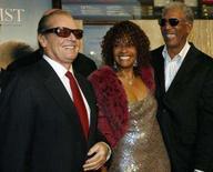 <p>Foto de Jack Nicholson, Beverly Todd e Morgan Freeman, elenco do filme 'Antes de Partir'. Nicholson e  Freeman, ambos septuagenários ganhadores do Oscar, acham que o filme, sobre o improvável encontro de dois velhos com câncer num quarto de hospital, pode ser o mais inspirador da temporada. Photo by Mario Anzuoni</p>