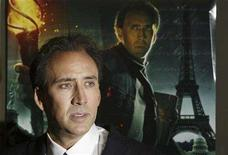 """<p>Nicolas Cage arrives for the premiere of the film """"National Treasure: Book Of Secrets"""" in New York December 13, 2007. REUTERS/Lucas Jackson</p>"""
