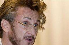 <p>Academy award-winning actor Sean Penn speaks at the University of San Francisco in San Francisco, California, December 7, 2007. Penn will head the jury at this year's Cannes Film Festival, the organizers announced on Thursday, a move that could reinforce the event's reputation for supporting left-wing causes. REUTERS/Kimberly White</p>