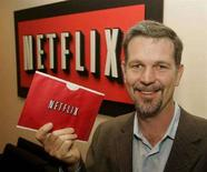 <p>Il fondatore di Netflix, Reed Hastings. REUTERS/Fred Prouser FSP</p>