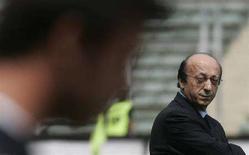 <p>Immagine d'archivio dell'ex direttore generale della Juventus, Luciano Moggi. REUTERS/Tony Gentile</p>