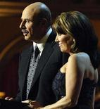 """<p>TV therapist Dr. Phil McGraw (L) and his wife Robin host the television taping of """"Christmas in Washington"""" at the National Building Museum Washington, December 9, 2007. The parents of Britney Spears on Wednesday accused Dr. Phil McGraw of betraying their trust by publicizing his visit to the troubled pop star while she was hospitalized last week. REUTERS/Jonathan Ernst</p>"""
