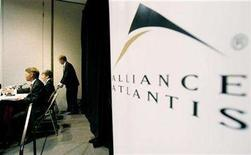 <p>Alliance Atlantis executives pictured during a special meeting where shareholders voted in favor of a $2.3 billion takeover offer from CanWest Global Communications Corp. and a private-equity affiliate of Goldman Sachs & Co. in Toronto, April 5, 2007.The CRTC imposed new rules on Tuesday restricting cross-media ownership and setting limits on broadcasting mergers to ensure diversity in programming. REUTERS/J.P. Moczulski</p>