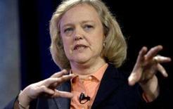 <p>Meg Whitman, presidente-executiva do eBay, em imagem de arquivo. Whitman, uma das mulheres mais poderosas no mundo dos negócios, está se preparando para sair do site de leilões, segundo reportagem desta terça-feira do Wall Street Journal. Photo by Kimberly White</p>