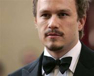 """<p>Actor Heath Ledger nominated for best actor for """"Brokeback Mountain"""" arrives at the 78th annual Academy Awards at the Kodak Theatre in Hollywood, California in this March 5, 2006 file photo. Ledger was found dead in his Manhattan apartment on Tuesday, possibly of a drug overdose, New York City police said. REUTERS/Lucy Nicholson</p>"""
