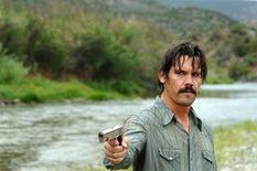 """<p>Josh Brolin is shown in a scene from """"No Country for Old Men"""" in this undated publicity photo released to Reuters January 22, 2008. The film was nominated for best picture the 80th annual Academy Awards announced in Beverly Hills January 22, 2008. The Oscars will be presented February 24, 2008 in Hollywood, California. REUTERS/New Line Cinema/Handout</p>"""
