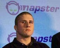 <p>Immagine d'archivio del fondatore di Napster, Shawn Fanning. LD</p>