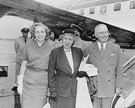 <p>(From right), former president Harry S. Truman, his wife Bess Truman, and his daughter Margaret Truman are seen in a 1951 photo from the U.S. National Archives. REUTERS/National Archives/Handout</p>