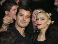 """<p>Musicians Gavin Rossdale (L) and Gwen Stefani attend the Ricky Hatton of England versus Floyd Mayweather Jr. of US, WBC welterweight title fight at the MGM Grand Garden Arena in Las Vegas, December 8, 2007. Stefani, whose 2004 album """"Love. Angel. Music. Baby."""" proved to be a breakout solo hit, is pregnant with her second child with husband Rossdale, according to several news reports on Tuesday. REUTERS/Steve Marcus</p>"""