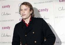 """<p>Heath Ledger arrives at the premiere of the film """"Candy"""" in New York November 6, 2006. REUTERS/Eric Thayer</p>"""