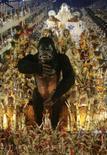 <p>O desfile da escola de samba Portela durante a primeira noite de apresentação das escolas no sambodromo do Rio de Janeiro. A Portela foi a grande surpresa na primeira noite de desfile na Marquês de Sapucaí neste domingo. Com inovações, a escola arrancou o tão esperado 'é campeã' do público, um grito guardado há 24 anos. Photo by Stringer</p>
