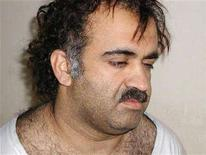 <p>Khalid Sheikh Mohammed is seen shortly after his March 2003 arrest. Military lawyers defending Osama bin Laden's former driver on terrorism charges in the U.S. war court at Guantanamo Bay have offered a compromise in their quest to interview the September 11 mastermind. REUTERS/Courtesy U.S.News & World Report/Handout</p>