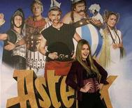 """<p>Italian actress Vanessa Hessler poses for the media to promote her movie """"Asterix at the Olympic games"""" in Munich January 16, 2008. REUTERS/Michael Dalder</p>"""