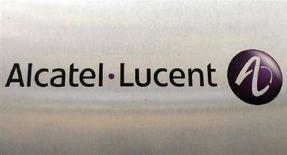 <p>Il logo di Alcatel-Lucent. REUTERS/Benoit Tessier</p>