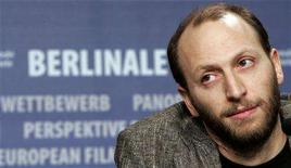 "<p>Italian director Luigi Falorni attends a news conference to present his film ""Feuerherz"" (Heart of Fire) running in the competition at the 58th Berlinale International Film Festival in Berlin, February 14, 2008. REUTERS/Tobias Schwarz</p>"