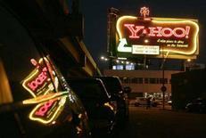 <p>L'insegna di Yahoo a San Francisco. REUTERS/Robert Galbraith (UNITED STATES)</p>
