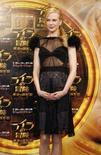 <p>A atriz Nicole Kidman posa durante conferência do filme 'A Bússula De Ouro', em Tóquio. A atriz australiana Nicole Kidman afirmou que busca melhorar o equilíbrio entre trabalho e vida pessoal fazendo filmes que seus filhos possam curtir. Photo by Yuriko Nakao</p>