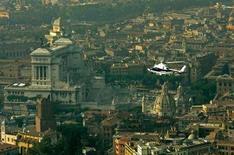 <p>Una veduta aerea di Roma. REUTERS/Alessandro Bianchi DJM</p>