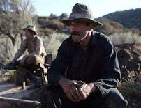 """<p>Daniel Day-Lewis in a scene from """"There Will Be Blood"""". REUTERS/Paramount Vantage/Handout</p>"""