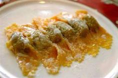 <p>Un piatto di tortelli di zucca. REUTERS/Daniele La Monaca</p>