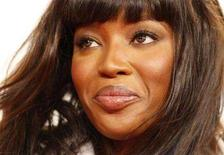 <p>British model Naomi Campbell addresses a news conference during Berlin Fashion Week January 28, 2008. Campbell is recovering from emergency abdominal surgery in a Sao Paulo hospital, hospital officials said on Tuesday. REUTERS/Johannes Eisele</p>