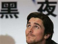"""<p>Actor Christian Bale during a news conference in Hong Kong, November 9, 2007. The fourth movie in the """"Terminator"""" franchise will reach North American theaters on May 22, 2009, coinciding with the Memorial Day holiday weekend, distributor Warner Bros. said. Bale will star as rebel leader John Connor. REUTERS/Herbert Tsang</p>"""