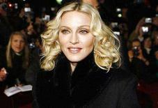 """<p>File photo shows Madonna arriving for the screening of her film 'Filth and Wisdom' running at the 58th Berlinale International Film Festival in Berlin, February 13, 2008. Madonna is set to release her new album """"Hard Candy"""" on April 29, 2008. REUTERS/Johannes Eisele</p>"""