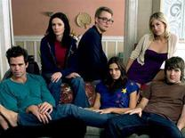 """<p>The cast of """"Quarterlife"""" in an undated photo. The first Web-based drama to air on network television has been canceled by NBC after a dismally rated first episode but will move to sister cable channel Bravo, people close to the show said on Thursday. REUTERS/NBC/Handout</p>"""
