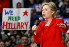 <p>A pré-candidata democrata à presidência dos EUA Hillary Clinton discursa para simpatizanres durante campanha em Houston, Texas. O Texas supostamente seria um bastião de sustentação para Hillary Clinton em sua batalha pela indicação democrata à Casa Branca, mas o Estado norte-americano pode se transformar em seu Álamo. Photo by Richard Carson</p>