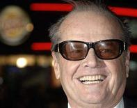 "<p>Jack Nicholson poses at the premiere of ""The Bucket List"" in London January 23, 2008. REUTERS/Anthony Harvey</p>"