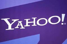 <p>Il logo di Yahoo al Consumer Electronics Show (CES) di Las Vegas, Nevada. REUTERS/Rick Wilking</p>