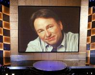 <p>An image of the late John Ritter at the 55th Annual Emmy Awards in Los Angeles. Doctors who treated Ritter after he collapsed on the set of his television comedy were cleared on Friday in a $67 million wrongful death lawsuit brought by the Emmy-winning actor's wife and children. REUTERS/Rob Galbraith</p>