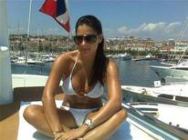 <p>A photo of Ashley Alexandra Dupre from her myspace.com web page and dated St. Tropez 2007. REUTERS/myspace.com</p>