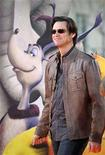 """<p>File photo shows cast member Jim Carrey at the premiere of the film """"Horton Hears a Who!"""" in Los Angeles March 8, 2008. Carrey scored his biggest opening at the North American box office in almost five years on Sunday as """"Dr. Seuss' Horton Hears A Who"""" debuted at No. 1 with estimated weekend sales of $45.1 million. REUTERS/Phil McCarten</p>"""