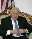 <p>Vice-presidente dos EUA, Dick Cheney, em encontro com o primeiro-ministro iraquiano Nuri al-Maliki, em Bagdá, em 17 de marc;o de 2008. Photo by Ceerwan Aziz</p>