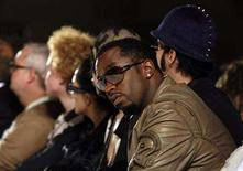 """<p>Sean """"Diddy"""" Combs attends the Heatherette 2008 collection during New York Fashion Week September 11, 2007. REUTERS/Eric Thayer</p>"""