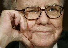 <p>Warren Buffett on Capitol Hill in Washington, November 14, 2007. REUTERS/Jason Reed</p>