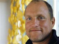 "<p>Actor Woody Harrelson poses during a portrait session to promote his new film ""The Grand"", a comedy set in the world of professional poker, at a hotel in Hollywood, California March 5, 2008. REUTERS/Fred Prouser</p>"