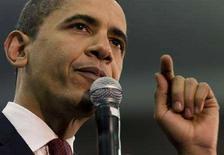 <p>Barack Obama durante un discorso a Charlotte il 19 marzo. REUTERS/Chris Keane (UNITED STATES)</p>
