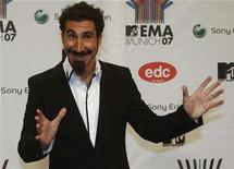 <p>Serj Tankian from the alternative metal band 'System of a down' poses on the red carpet before the MTV Europe Awards ceremony in Munich November 1, 2007. REUTERS/Michael Dalder</p>