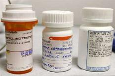<p>Alcune medicinali americani. Si precisa che la foto ha solo carattere illustrativo della notizia REUTERS/Lucy Nicholson</p>
