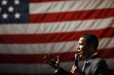 <p>Arrecadação em campanha eleitoral dos EUA supera PIBs africanos. O pré-candidato democrata Barack Obama em foto de campanha. Candidatos  já arrecadaram quase 1 bilhão de dólares para suas campanhas, o que significa uma quantia superior ao PIB de vários países africanos. 26 de março. Photo by Ellen Ozier</p>