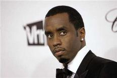 """<p>Sean """"Diddy"""" Combs arrives at the 16th Annual Elton John AIDS Foundation Party to celebrate the Academy Awards, the Oscars, at the Pacific Design Center in West Hollywood, California, February 24, 2008. REUTERS/Danny Moloshok</p>"""