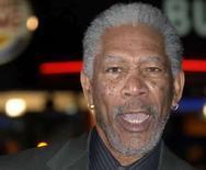 <p>O ator norte-americano, Morgan Freeman, em imagem de arquivo. Freeman é o fundador de uma organização sem fins lucrativos para ajudar pessoas afetadas por desastres naturais. Photo by Anthony Harvey</p>