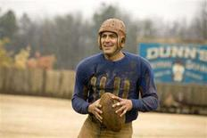 "<p>George Clooney in a scene from ""Leatherheads"". REUTERS/Universal Pictures/Handout</p>"