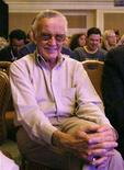 <p>Stan Lee sits at the presentation of the Activision game Spider-Man: Friend or Foe during the E3 Media and Business Summit in Santa Monica, California July 11, 2007. REUTERS/Mario Anzuoni</p>